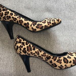 Merona Leopard Print Heels